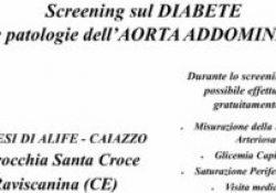 RAVISCANINA. Screening gratuito sul diabete e le patologie dell'aorta addominale: domattina in citta' a cura della Fondazione Cisom.