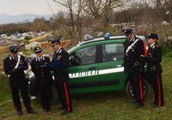 Frosolone. Attività di contrasto contro l'abbandono di rifiuti speciali. Quattro soggetti incappano nei controlli dei Carabinieri Forestali.