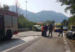 Santa Maria del Molise. Grave incidente lungo la S.S. 17, cinque i feriti estratti dalle auto dai vigili del fuoco.