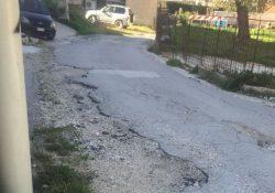 """CASTELLO DEL MATESE. Il gruppo """"Le due torri"""" segnala: in via delle mura gli abitanti vivono in condizioni pessime."""