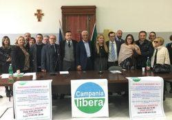 """S. Maria C.V. Primo congresso cittadino di """"Campania libera"""": Maurizio Cecere nuovo segretario per acclamazione."""