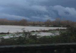 DRAGONI / ALIFE. Piogge incessanti da giorni nell'Alto casertano: il fiume Volturno straripa come non mai. Ecco le eccezionali immagini.