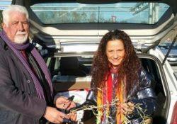 ALIFE. Il Cosint (Corpi Santitari Internazionali ) dona derrate e dolci natalizi per il progetto di solidarietà del Movimento per la Pace.