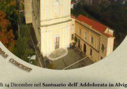 ALVIGNANO. Il Santuario dell'Addolorata riapre ai suoi fedeli, doppio appuntamento domenica 10 e giovedì 14 dicembre: Solenne Celebrazione Eucaristica e concerto natalizio con la Banda della Nato.