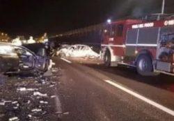 CAIANELLO / CAPUA. Incidente mortale in Autostrada: uomo scende dal suo furgone per controllare i danni dopo un sinistro, viene travolto ed ucciso da un'auto in corsa.