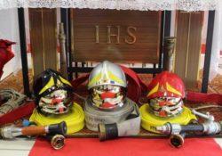 Isernia / Provincia. Cerimonia di commemorata della festività di Santa Barbara, Patrona dei Vigili del Fuoco.