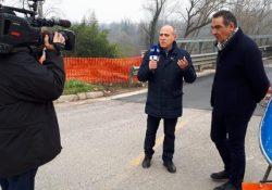 DRAGONI / ALIFE. Ponte Margherita, arrivano le telecamere della RAI: prossima riapertura a due corsie? I VIDEO.