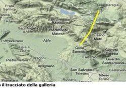 PIEDIMONTE MATESE / GUARDIAREGIA. Il nuovo ponte di Genova è costato 202 milioni, la galleria del Matese costerebbe solo 20 in più, ma in Campania neanche in campagna elettorale se ne parla.
