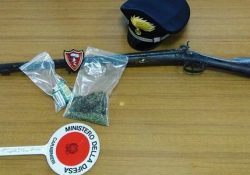 Agnone. Detenzione illegale di droga e armi, denunciato 30enne: sequestro dosi di marijuana e un fucile calibro 12.