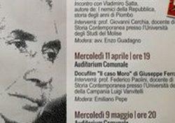 """PIEDIMONTE MATESE. """"In ricordo di Aldo Moro"""": eventi a cura dell'Associazione Piedimonte Futura a 40 anni dalla morte dello statista della DC."""