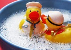 Anatre di plastica nel bagno dei bambini. I pericoli, dovremmo vietarle? La curiosità degli scienziati non ha limiti.