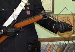 Monteroduni. Arma detenuta illegalmente, due persone denunciate dai Carabinieri: sequestrata una carabina calibro 9.