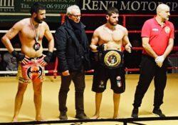 """Teverola / Ariccia. Giovanni Improta vince titolo italiano """"Free Boxe Orientale Rules""""."""