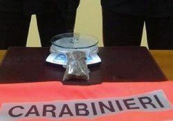 Isernia / Provincia. Controlli antidroga dei Carabinieri, studente trovato in possesso di marijuana.