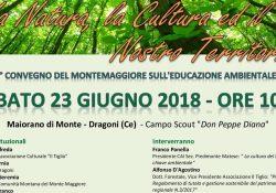 DRAGONI. Al Campo Scout di Maiorano di Monte si terrà il 1^convegno del Montemaggiore sull'Educazione ambientale a cura dell'Associazione Il Tiglio.