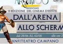 S. Maria C. V. Dall'arena allo schermo: torna al'anfiteatro campano la rassegna firmata Arthmòs.