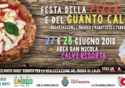 CALVI RISORTA. Pizza e guanto caleno: l'evento gastronomico a cura della Pro Loco Cales Novi e Rete Archeocales.