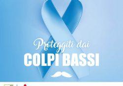"""Aversa. Campagna Nazionale LILT, Ospedale S.G. Moscati aderisce a """"Proteggiti dai colpi bassi – Percorso Azzurro""""."""