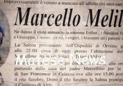 """ALIFE / CAIAZZO. """"Ti è sempre piaciuto stare al centro dell'attenzione! Stavolta hai esagerato… Hai voluto concludere tu la partita della vita!"""": quest'oggi i funerali di Michele e del figlioletto Marcello Melillo."""