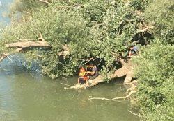 SANT'ANGELO IN FORMIS. Ragazzo si lancia nel fiume Volturno all'altezza del Ponte di Annibale: salvato dai Vigili del Fuoco. FOTO E VIDEO.