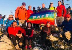 PIEDIMONTE MATESE. Bandiera della Pace sul Miletto 2018: encomio speciale per la Pace conferito al prof. Carlo Pastore.