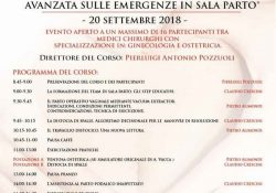 Capua. Corso teorico – pratico di formazione avanzata sulle emergenze in sala parto: domani giovedì 20 settembre appuntamento alla Clinica Villa Fiorita.