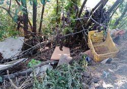 BELLONA / TRIFLISCO. La riva del fiume Volturno trasformata in una discarica: la denuncia del comitato cittadino.