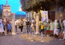 PIEDIMONTE MATESE. Partenza col botto per il Palio di Santa Maria: in gara coi giochi popolari 8 contrade.