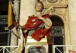 PIEDIMONTE MATESE. Ecco il nuovo Busto di San Venanzio Martire: domenica prossima l'ingresso nella Chiesa Ave Gratia Plena.