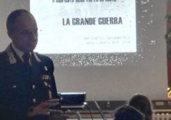 """Frosolone. I Carabinieri in cattedra per spiegare """"La Grande Guerra"""" agli studenti."""