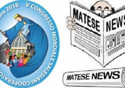 PIEDIMONTE MATESE / ROMA. Congresso Mondiale Cooperatori Salesiani: dal 25 al 28 ottobre 2018 a Roma anche la rappresentate matesina.
