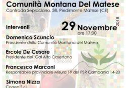PIEDIMONTE MATESE. Contributo di quasi 6 milioni di euro al GAL Alto Casertano, in corso la pubblicazione 13 bandi: se ne parlerà alla Comunità Montana Matese.