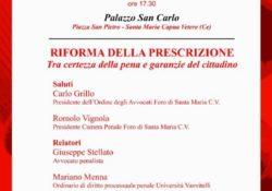 S. Maria C.V. La riforma della prescrizione, secondo ciclo di incontri: il dibatito con Magi, Piccirillo, D'Alessio, Menna e Stellato.