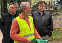 """PIEDIMONTE MATESE. l Lions Club """"I Sanniti"""" continua a """"servire"""" il territorio: giornata ecologica in città."""