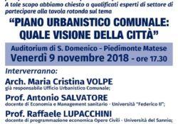 PIEDIMONTE MATESE. PUC e nuova programmazione urbanistica del territorio, Forza Italia chiama a raccolta i massimi esperti del settore per avanzare idee e proposte da condividere con associazioni e cittadini.