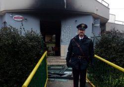 Pozzilli. Bar distrutto da un incendio: indagano i Carabinieri.