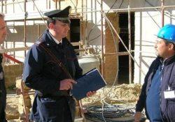 Isernia. Carabinieri dell'ispettorato del lavoro effettuano controlli nell'ambito del settore edile: denunciate 2 persone.