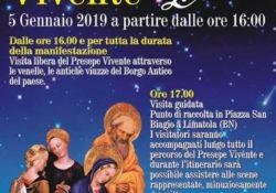 Limatola. Il Presepe vivente attraverso le venelle, le antiche viuzze del paese: il prossimo 5 gennaio dalle ore 16:00.