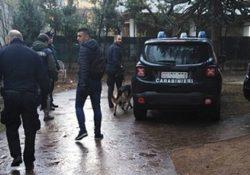 """Venafro / Isernia. Controllo """"piazze di spaccio"""" da parte dei Carabinieri: impiegata unità cinofila antidroga del Nucleo di Chieti."""