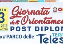 Telese Terme. Il Telesi@ organizza la Prima Giornata dell'Orientamento post-diploma: sabato 13 aprile nella cornice del parco termale telesino.