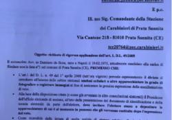 PRATA SANNITA / Verso le Amministrative 2019. Obbligo di lasciare i telefoni cellulari fuori della cabina elettorale: esposto del candidato sindaco De Rosa al Prefetto ed ai Carabinieri.