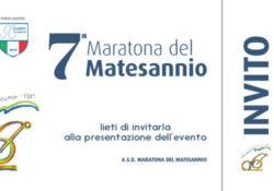 GIOIA SANNITICA / SAN POTITO SANNITICO. VII Maratona del Matesannio: domani, sabato 1 giugno, la conferenza stampa di presentazione.