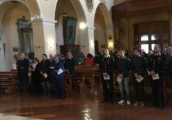 Carovilli. I Carabinieri ricordano i Vice brigadieri Antonio Caccia e Antonio Campopiano, deceduti 20 anni fa nell'espletamento del servizio.