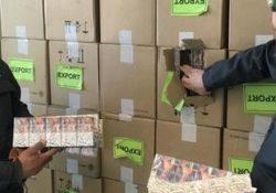 Caserta / Provincia. Autoarticolato con 4 tonnellate di sigarette di contrabbando, pari a circa 20mila stecche, sequestrate dalla Finanza.