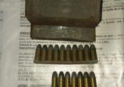 Isernia / Provincia. Rinvenuto munizionamento da guerra del secondo conflitto mondiale.