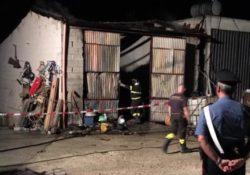 Isernia / Provincia. Capannone in fiamme: il pronto intervento dei Carabinieri mette in sicurezza l'intera area dell'incendio e l'incolumità dei cittadini.