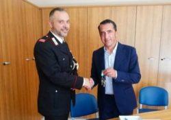 CAIAZZO / RUVIANO. Caserma dei carabinieri a Ruviano: sottoscritto il contratto e consegnate ufficialmente le chiavi.