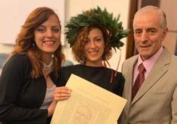 ALIFE. Un brillante risultato per l'alifana Giovanna Palomba: si laurea in medicina e chirurgia. Ora l'attende la specializzazione in chirurgia pediatrica.