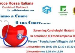 Caserta / Provincia. Prevenzione cardiovascolare: screening gratuiti alla Fondazione Villaggio dei Ragazzi.