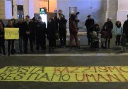 Castelpoto. Migranti in protesta davanti la Prefettura per dire il suo no al trasferimento del Centro accoglienza.